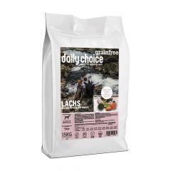 daily choice - Trockenfutter - Grainfree Lachs mit Kartoffeln und Erbsen (getreidefrei)