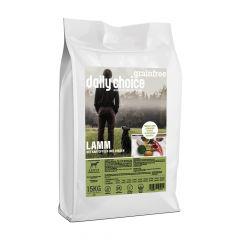 daily choice - Trockenfutter - Grainfree Lamm mit Kartoffeln und Erbsen (getreidefrei)
