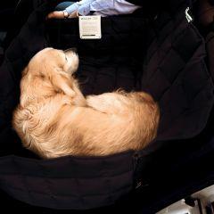 Doctor Bark - Hundedecke - 2-Sitz-Autodecke in Schwarz L