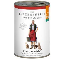 defu - Nassfutter - Bio Rind Sensitiv Pâté (getreidefrei)