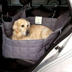 Doctor Bark - Hundedecke - 2-Sitz-Autodecke in Grau L