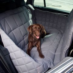 Doctor Bark - Hundedecke - 3-Sitz-Autodecke in Grau M