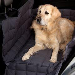 Doctor Bark - Hundedecke - 2-Sitz-Autodecke in Braun