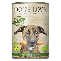 Dog's Love - Ergänzungsfutter - Bio Greens Vegan mit Gemüse und Obst (getreidefrei)