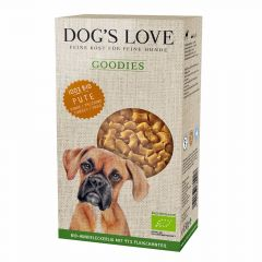 Dog's Love - Kausnack - Goodies Bio Pute (getreidefrei)