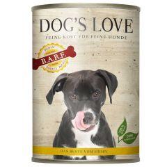 Dog's Love - Nassfutter - BARF Huhn Pur (getreidefrei)