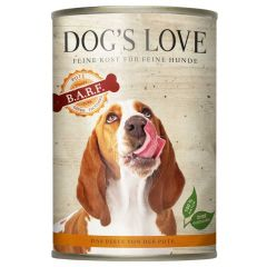 Dog's Love - Nassfutter - BARF Pute Pur (getreidefrei)