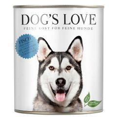 Dog's Love - Nassfutter - Classic Fisch mit Amaranth und Karotte (getreidefrei)
