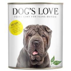 Dog's Love - Nassfutter - Classic Huhn mit Birne und Quinoa (getreidefrei)