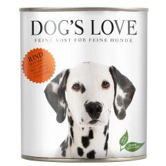 Dog's Love - Nassfutter - Classic Rind mit Apfel und Spinat (getreidefrei)