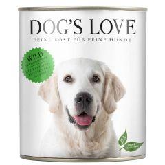 Dog's Love - Nassfutter - Classic Wild mit Kartoffel und Zwetschke (getreidefrei)