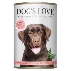 Dog's Love - Nassfutter - Hypoallergen Pferd mit Pastinaken und Tomaten (getreidefrei)