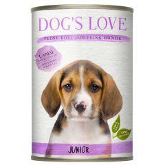 Dog's Love - Nassfutter - Junior Lamm mit Kürbis und Kamille (getreidefrei)