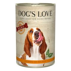 Dog's Love - Nassfutter - BARF Pute Pur 6 x 400g (getreidefrei)