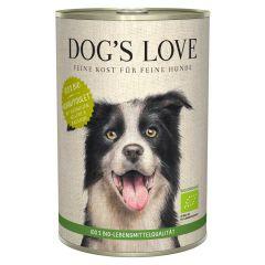 Dog's Love - Nassfutter - Bio Huhn mit Buchweizen und Sellerie 6 x 400g (getreidefrei)