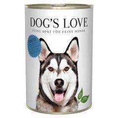 Dog's Love - Nassfutter - Classic Fisch mit Amaranth und Karotte 6 x 400g (getreidefrei)