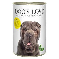 Dog's Love - Nassfutter - Classic Huhn mit Birne und Quinoa 6 x 400g (getreidefrei)