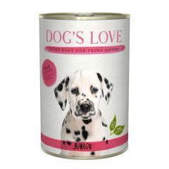 Dog's Love - Nassfutter - Junior Rind mit Karotte und Salbei (getreidefrei)