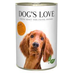 Dog's Love - Nassfutter - Classic Pute mit Apfel und Zucchini 6 x 400g (getreidefrei)