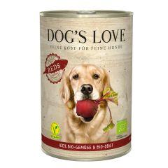 Dog's Love - Ergänzungsfutter - Bio Reds Vegan mit Gemüse & Obst