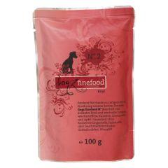 Dogz finefood - Nassfutter - No.2 Rind (getreidefrei)