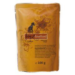 Dogz finefood - Nassfutter - No.8 Pute & Ziege (getreidefrei)