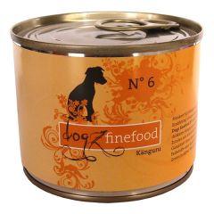 Dogz finefood - Nassfutter - No.6 Känguru (getreidefrei)