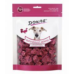 Dokas - Hundesnack - Entenbrust-Würfel mit Kichererbsen, Rote Beete & Kokosöl (getreidefrei)