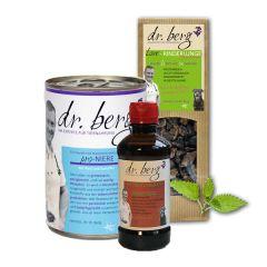 Dr. Berg - Nassfutter - Kurpaket Entgiftung 12 x 400g + Snack 2 x 50g und Öl 250ml