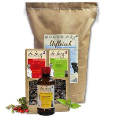 Dr. Berg - Trockenfutter - Premium Paket mit 10kg + Snack 2 x 50g und Öl 250ml