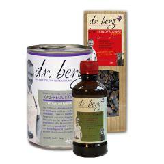 Dr. Berg - Nassfutter - Kurpaket Entschlackung 12 x 400g + Snack 2 x 50g und Öl 250ml