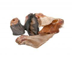 EcoStar - Kausnack - Dog Snack Rinderohren mit Fell (getreidefrei)