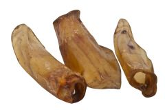 EcoStar - Kausnack - Dog Snack Rinderohren (getreidefrei)
