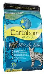 Earthborn Holistic - Trockenfutter - Feline Wild Sea Catch (getreidefrei)