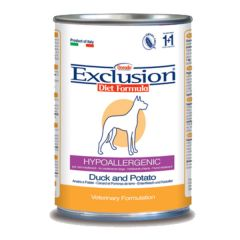 Exclusion - Nassfutter - Diet Maintenance Ente & Kartoffel (hypoallergenic - getreidefrei)