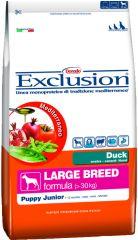Exclusion -  Trockenfutter - Mediterraneo Large Adult mit Ente