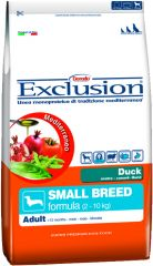 Exclusion -  Trockenfutter - Mediterraneo Small Breed Adult mit Ente
