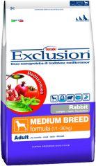 Exclusion - Trockenfutter - Mediterraneo Medium Adult mit Kaninchen