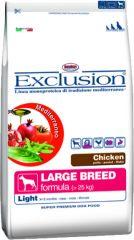 Exclusion - Trockenfutter - Mediterraneo Large Breed Light mit Huhn 12,5kg