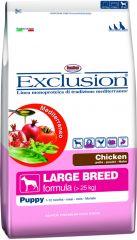 Exclusion - Trockenfutter - Mediterraneo Large Puppy Junior mit Huhn