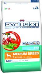 Exclusion -  Trockenfutter - Mediterraneo Medium Adult mit Fisch