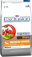 Exclusion - Trockenfutter - Mediterraneo Medium Mature mit Huhn