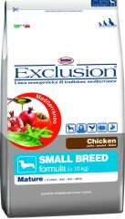 Exclusion -  Trockenfutter - Mediterraneo Mature Small Breed mit Huhn