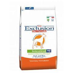 Exclusion - Trockenfutter - Diet Intestinal Small Breed Schwein und Reis (glutenfrei)