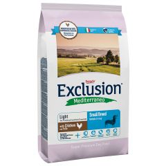 Exclusion - Trockenfutter - Mediterraneo Small Breed Light mit Huhn