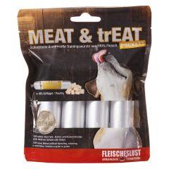 Fleischeslust - Hundesnack - Meat & Treat Pockets Geflügel (getreidefrei)