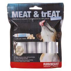 Fleischeslust - Hundesnack - Meat & Treat Pockets Lachs (getreidefrei)