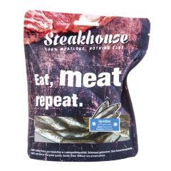 Fleischeslust - Hundesnack - Steakhouse Sprotten gefriergetrocknet (getreidefrei)