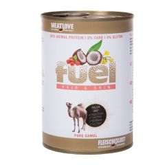 Fleischeslust - Nassfutter - Fuel Hair & Skin Kamel Pur 6 x 410g (getreidefrei)