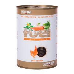 Fleischeslust - Nassfutter - Fuel Happy End Huhn Pur 6 x 410g (getreidefrei)